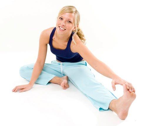 bacak boyu uzatma egzersizleri